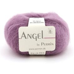Angel by Permin - mohair strikkegarn Handicraft, Knitted Hats, Snefnug, Angeles, Knitting, Sunday, Sweaters, Knitting Sweaters, Yarns