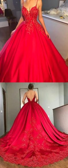 Sexy Ball Gown Prom Dress,Lace Prom Dress,Cheap Prom