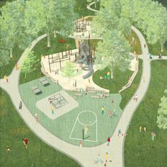 """Check out our site for additional relevant information on """"playground indoor design play spaces"""". It is actually a superb place to learn more. Collage Architecture, Architecture Visualization, Architecture Graphics, Architecture Drawings, Landscape Architecture, Architecture Design, Landscape Diagram, Urban Landscape, Landscape Design"""