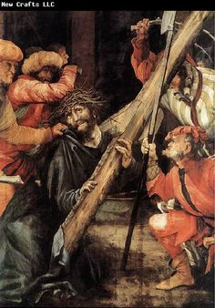 Grunewald, Mathias (1470-1528)   Matthias Grunewald Carrying the Cross
