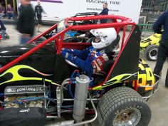 My dad in his midget at Chili Bowl 2012