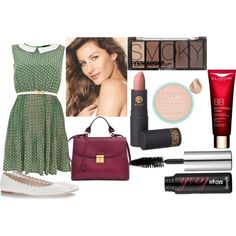 Girly nd Green by claudia-roselli on Polyvore