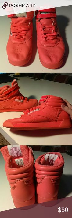 abeff0660641f Cheap neon orange reebok shoes Buy Online  OFF63% Discounted