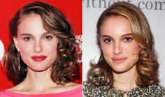 Natalie Portman with shoulder length hair Red Dress Makeup, Hair Makeup, Natalie Portman Hot, Hot Hair Styles, Shoulder Length Hair, Makeup For Brown Eyes, Cut And Color, Hair And Nails, Cool Hairstyles
