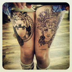 thighs: but with marie antoinette and grace o'malley