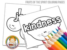 fruits of the spirit bible coloring pages