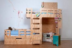 Bedstede door ontwerper Arnoud Dijkstra   Interieur inrichting
