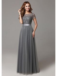 Buy wholesale retro bridesmaid dresses,rose bridesmaid dresses along with short bridesmaid dresses uk on DHgate.com and the particular good one- glamorous grey a-line lace tulle bridesmaid gowns 2016 jewel floor-length maid of honor dress ribbons wedding party dress bd10226 is recommended by helen_fontaine at a discount.