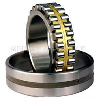 Double row cylindrical roller bearing with a high capability to bear radial load, which is suitable for both heavy load and high-speed rotation.