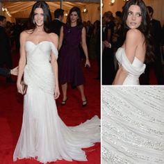 Ashley Greene at Met Gala 2012 wearing Donna Karan