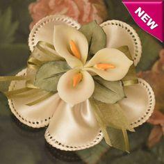 Italian Confetti Flower with Authentic Capodimonte Flower myitalianfavors.com™