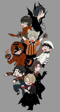 Me Me Me Anime, Anime Guys, Cryptozoology, Angel Of Death, Hetalia, Cute Art, Anime Art, Geek Stuff, Fandoms