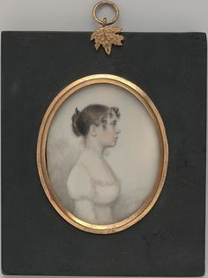 1813 - Miniature Portrait of a Lady William P. Sheys (active 1813–21) - in the Metropolitan Museum of Art