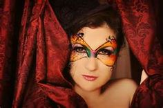 COLORATO Glitter Masquerade Fancy Dress Party Ball FACE MASK CARNEVALE CAPODANNO