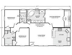 Optional Floor Plan Sandalwood Xl 24402x 3 Bedrooms 1
