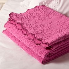 Waves Jacquard Bedspread