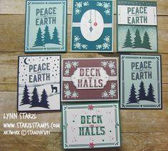 Sneak Peak of the Carols of Christmas stamp set and the Card Front Builder Thinlits dies, bundle!