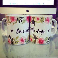 "Esta taza refleja mi amor por los perros .  ""Love all the Dogs"" en www.perrofan.com"