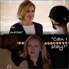 """Emma.. My darling girl. I'm your mother.""  ""Can I stay.""  Seriously love the relationship with Anne and Emma!"