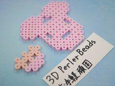 2017_1103_150922p1170722 3d Perler Bead, Perler Beads, Paper, Projects