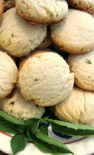 Found this recipe after I had tried lemon basil cookies.  They are amazing!