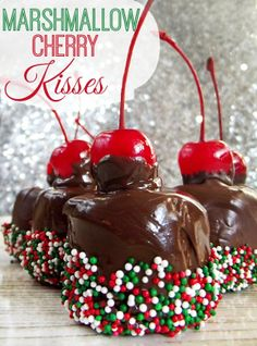 Marshmallow Cherry Kisses Simple and delicious Everyone loves them!!