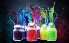 Τα αντίδοτα του Πόνου, της Αγανάκτησης και του Θυμού | Neuro Self Mastery Colorful Wallpaper, Colorful Backgrounds, Fluorescent Paint, Ipad Background, Cool Desktop, Paint Splash, Painting Wallpaper, Original Wallpaper, Abstract