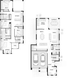 Standard floorplan for The Preston