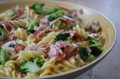 Siri, Penne, Food For Thought, Bacon, Food And Drink, Drinks, Cooking, Ethnic Recipes, Kochen