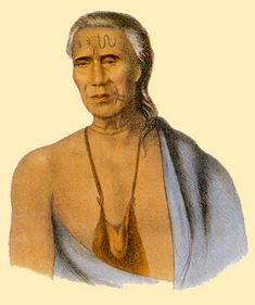 Thumbnail for version as of 08:19, 6 January 2007. Chief Lappanwinsoe of the Delaware