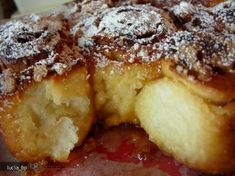 Romanian Desserts, Romanian Food, Pastry And Bakery, Pastry Cake, Hungarian Recipes, Sweet Cakes, Snacks, Soul Food, Cinnamon Rolls