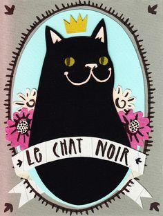 le chat noir by bex bourne