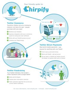 Chirpify -- a Twitter Commerce app - collect donations, fundraise with a Tweet. Pay with a Tweet