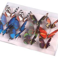 Motýlí dekorace 3D