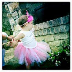 Beautiful Baby Pink Birthday TuTu by GoodThingsComeNTuTus on Etsy, $28.00