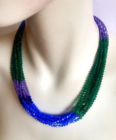 Electric Viridian necklace | Candy Spender Jewels