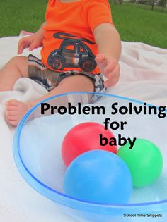 Baby Play: Problem Solving