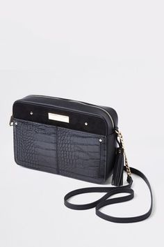 Buy River Island Black Boxy Cross Body Bag from the Next UK online shop bbca04c7420c1