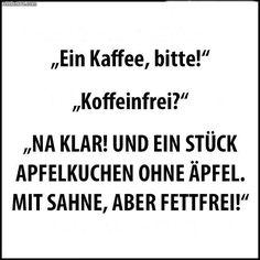 Ein Kaffee bitte!