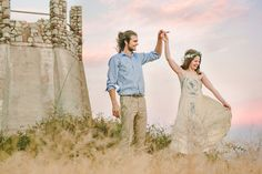 Bohemian Engagement Shoot | Kristen Booth Photography | Bridal Musings Wedding Blog 16