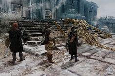The Dragonborn's Tale Twenty-One - A Good Fight. http://wendyschardein.wordpress.com/2013/06/05/the-dragonborns-tale-21-a-good-fight/
