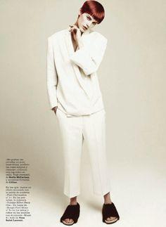 Marie Claire Spain April 2013  Model:  Saskia de Brauw