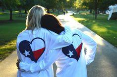 #Texas Southern Love Long Sleeve Pocket Tee on Bourbonandboots.com