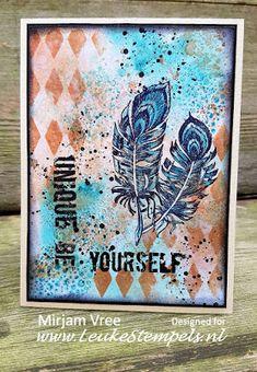 Leuke Stempels: Be Yourself