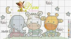 Cross Stitch Baby, Cross Stitch Flowers, Cross Stitch Patterns, Baby Knitting Patterns, Craft Patterns, Crochet Patterns, C2c Crochet Blanket, Cross Stitching, Pixel Art