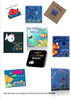 """Voici quelques idées de livres par thèmes (dont les monstres pour la période """"ça fait peur""""). Lorsque tous les albums du thème sont connus , chaque enfant entoure celui qu'il a préféré et la fiche est incorporée au cahier.  - Idées Livres thèmes.pdf"""