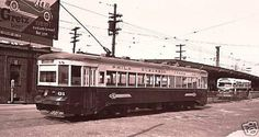 Red Arrow  Brill  built  trolley