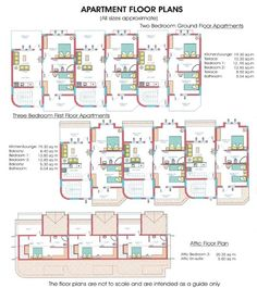 Apartments Site Plan Villa Floor Plans