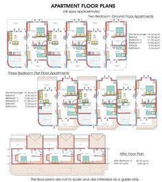 Apartment Building Floor Plans Designs