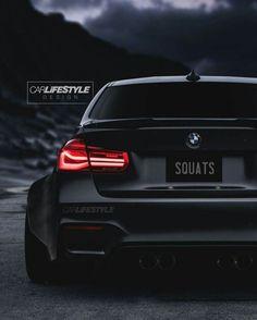 BMW F80 M3 black widebody squats carlifestyle